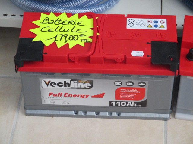 Batteries promotion batterie cellule