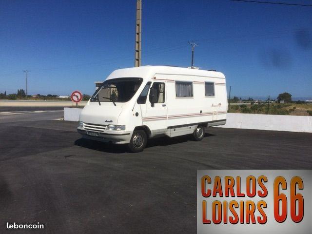 le voyageur lv6 occasion de 1999 fiat camping car en vente claira pyrenees orientales 66. Black Bedroom Furniture Sets. Home Design Ideas
