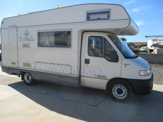 mobilvetta freeline bussola occasion de 1999 fiat camping car en vente claira pyrenees. Black Bedroom Furniture Sets. Home Design Ideas