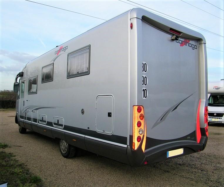 carthago chic s plus 52 occasion de 2010 mercedes camping car en vente bouafle yvelines 78. Black Bedroom Furniture Sets. Home Design Ideas