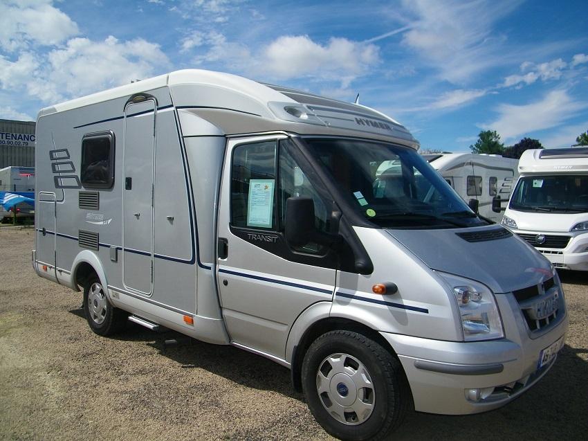 hymer van 522 occasion de 2007 ford camping car en. Black Bedroom Furniture Sets. Home Design Ideas