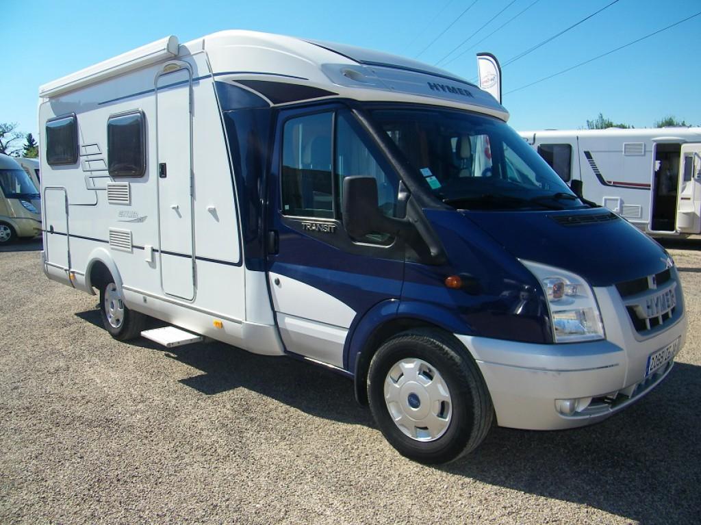 hymer van 572 occasion de 2007 ford camping car en vente bouafle yvelines 78. Black Bedroom Furniture Sets. Home Design Ideas