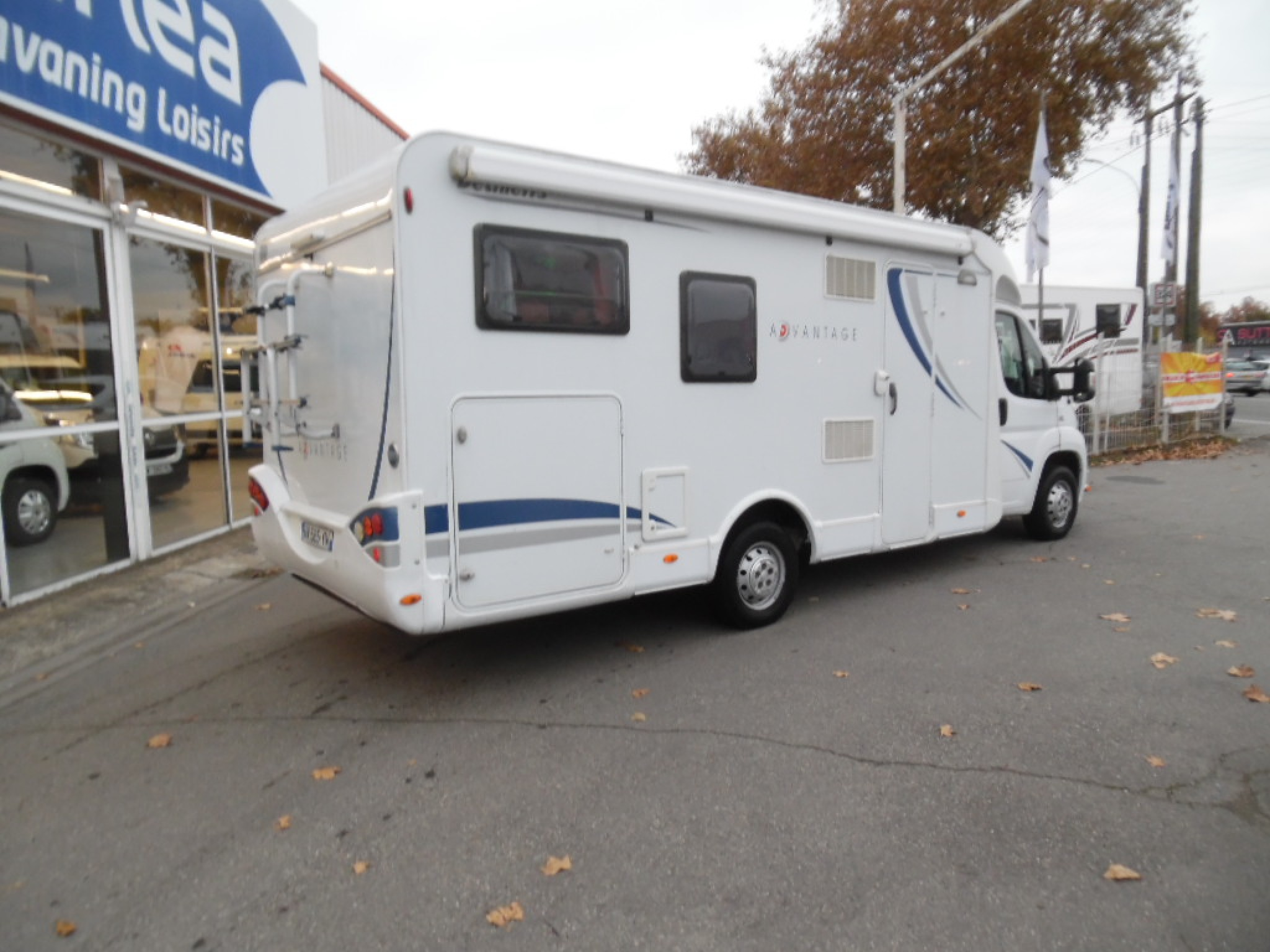 dethleffs advantage 6571 occasion de 2007 fiat camping car en vente toulouse haute. Black Bedroom Furniture Sets. Home Design Ideas