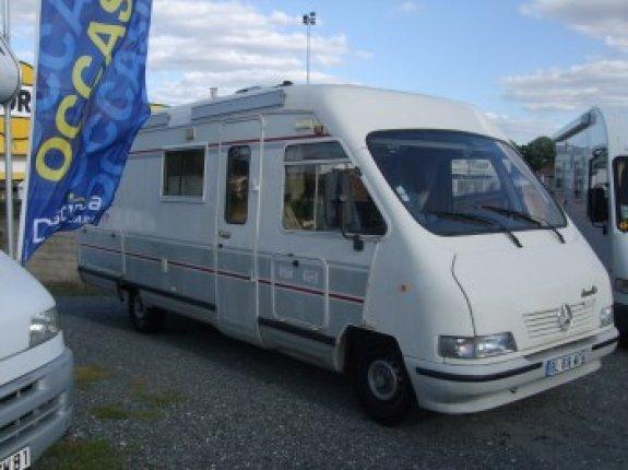 le voyageur lvx 7 occasion de 1998 mercedes camping car en vente albi puygouzon tarn 81. Black Bedroom Furniture Sets. Home Design Ideas