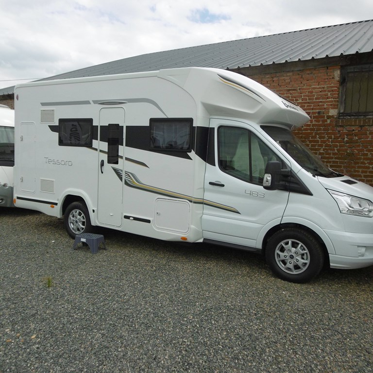 benimar tessoro 483 neuf de 2018 ford camping car en vente claye souilly seine et marne 77. Black Bedroom Furniture Sets. Home Design Ideas