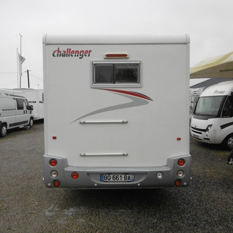 Camping Car Occasion Challenger Lit Central Et Lit Pavillon