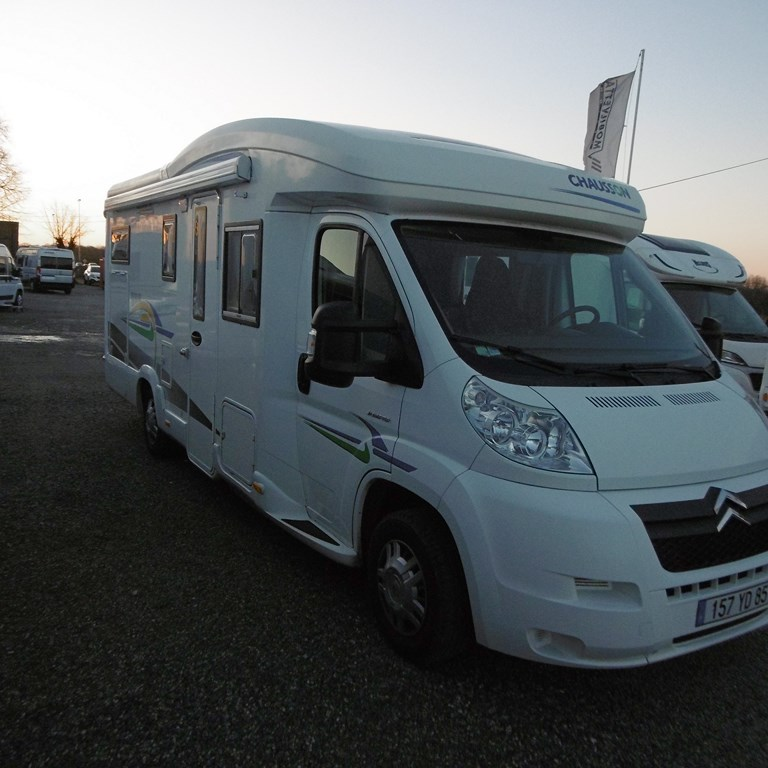 Chausson allegro 94 occasion de 2008 citroen camping for Garage citroen claye souilly