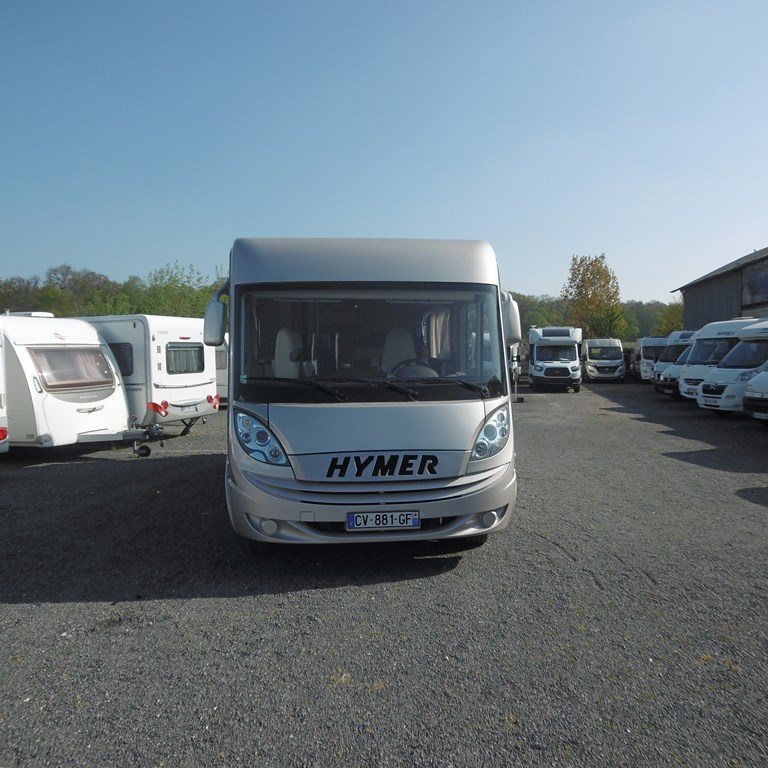 Camping Car Hymer Paris