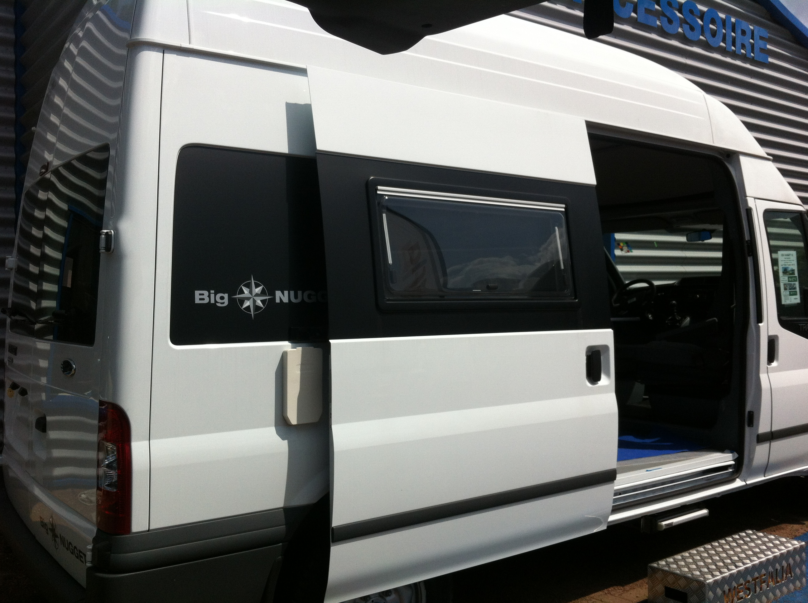 westfalia big nugget neuf de 2012 - ford