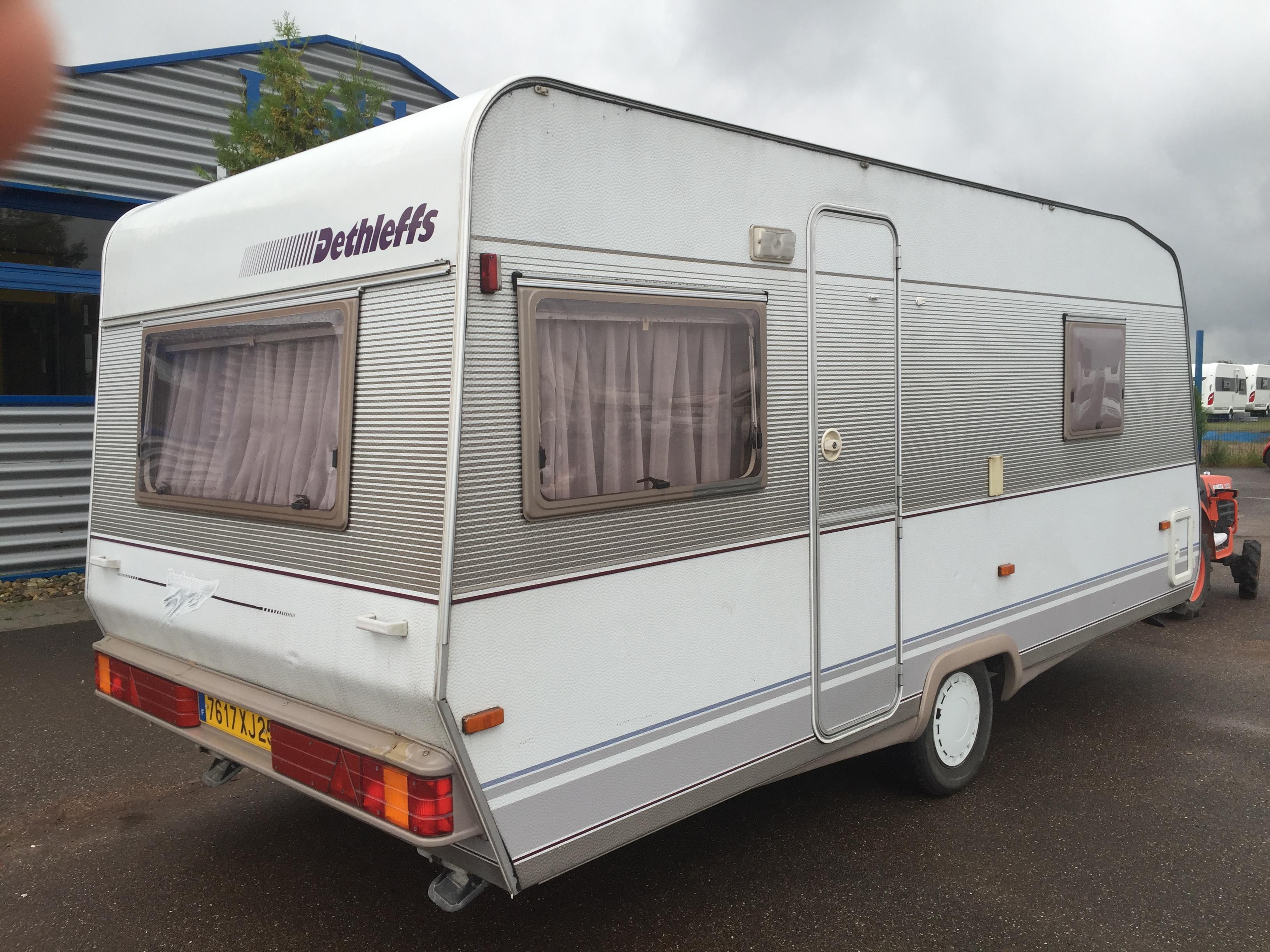 dethleffs bedouin occasion caravane vendre en rhin 67 ref 8552. Black Bedroom Furniture Sets. Home Design Ideas